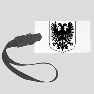 Griffin design silhouette Large Luggage Tag