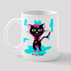 Artsy Cat Mug