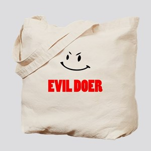 Impeach Bush Bill - Evil Doer Tote Bag
