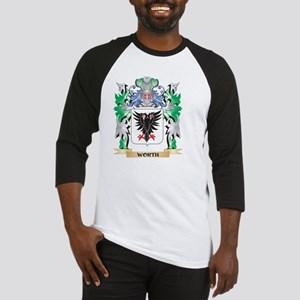 Worth Coat of Arms - Family Crest Baseball Jersey