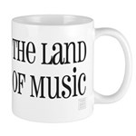 The Land of Music (word mug) Mugs