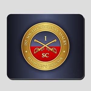 1st South Carolina Cavalry Mousepad