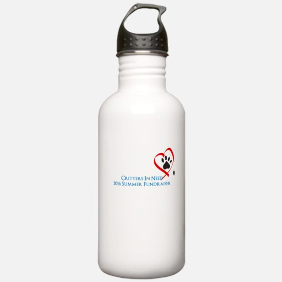 Heart and Paw Water Bottle