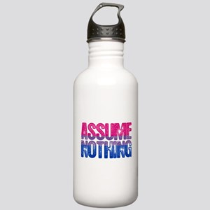 Assume Nothing Bisexua Stainless Water Bottle 1.0L