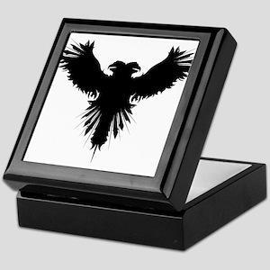Double eagle tattoo Keepsake Box