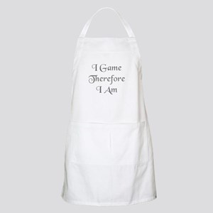 I Game Therefore I Am Apron