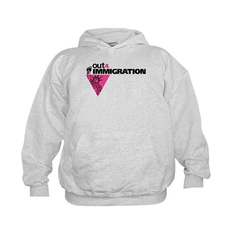 Out4Immigration Kids Hoodie