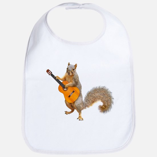 Squirrel Acoustic Guitar Bib