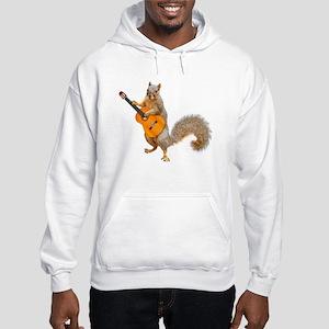 Squirrel Acoustic Guitar Hoodie