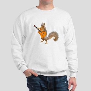 Squirrel Acoustic Guitar Sweatshirt