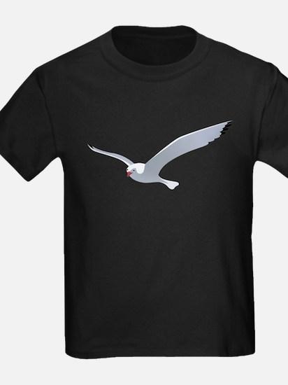 Flying seagull art T-Shirt