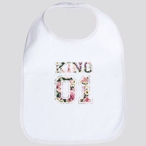 king and queen couple shirts Bib