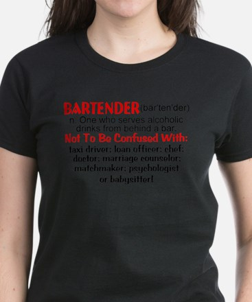 Bartender Definition T-Shirt