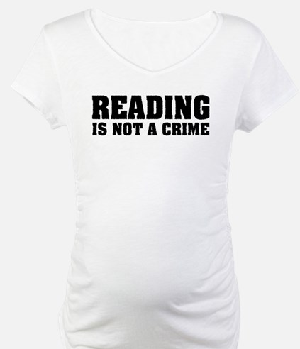 Reading is Not a Crime Shirt