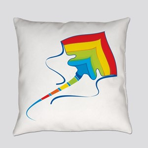 Colorful stingray fish Everyday Pillow