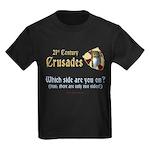 21st Century Crusades Kids Dark T-Shirt