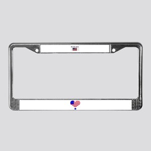 BUY AMERICAN PRODUCTS License Plate Frame