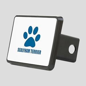 Sealyham Terrier Dog Desig Rectangular Hitch Cover