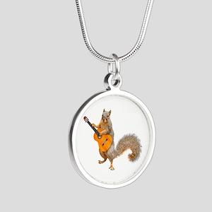Squirrel Acoustic Guitar Necklaces