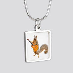 Squirrel Acoustic Guitar Necklaces