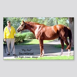 "SECRETARIAT ""Big Red"" Sticker"