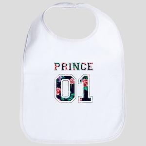 Prince and Princess couple shirts Bib