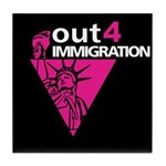 Out4Immigration Tile Coaster