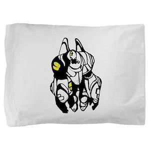 Cartoon fat transformers Pillow Sham