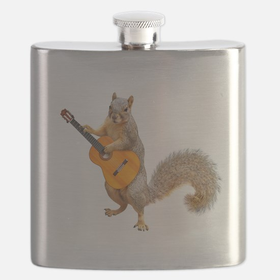 Squirrel Acoustic Guitar Flask
