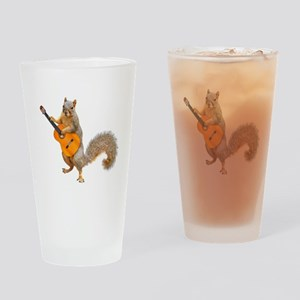 Squirrel Acoustic Guitar Drinking Glass