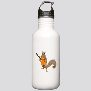 Squirrel Acoustic Guitar Water Bottle