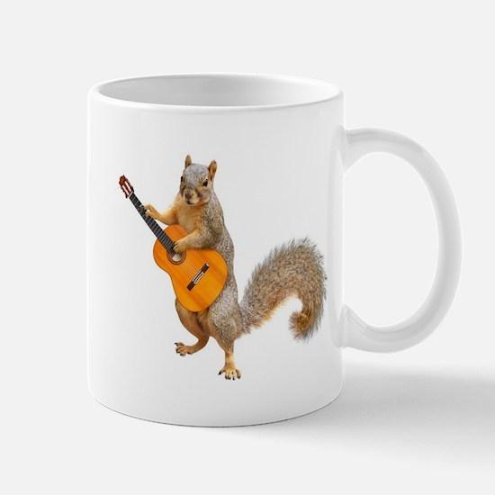 Squirrel Acoustic Guitar Mugs