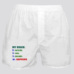 My Brain, 90% For Hapkido Boxer Shorts