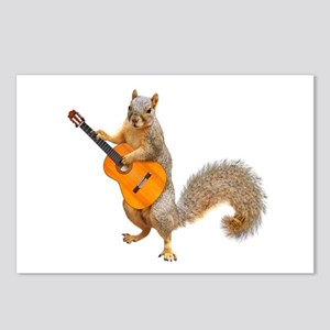 Squirrel Acoustic Guitar Postcards (Package of 8)