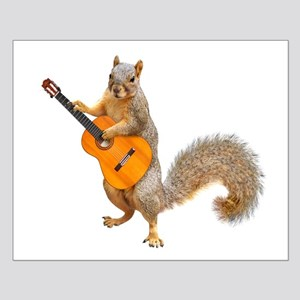 Squirrel Acoustic Guitar Posters