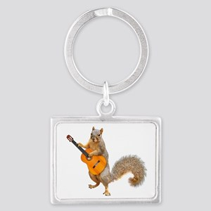 Squirrel Acoustic Guitar Keychains