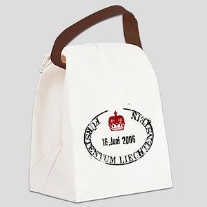 Furstentum liechtenstein stamp Canvas Lunch Bag