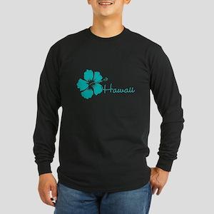 Blue Hawaii Long Sleeve T-Shirt