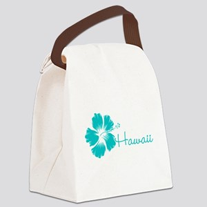 Blue Hawaii Canvas Lunch Bag