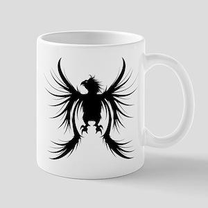 Griffin design silhouette Mugs