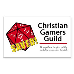 Christian Gamers Guild Logo Decal