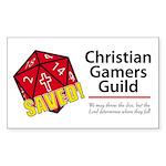 Christian Gamers Guild Logo Sticker
