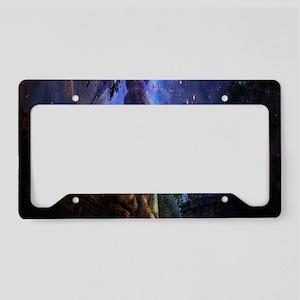 Universal Tree of Life License Plate Holder