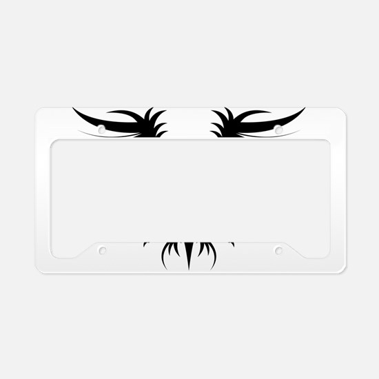 Griffin tattoo art License Plate Holder