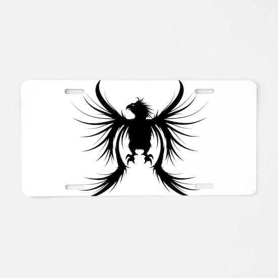 Griffin design silhouette Aluminum License Plate