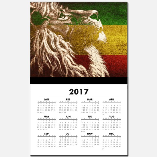 King Of Judah Calendar Print
