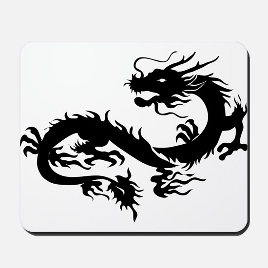 Chinese dragon art Mousepad