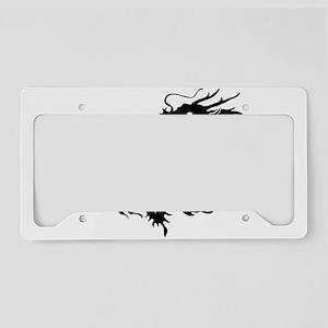 Chinese dragon art License Plate Holder
