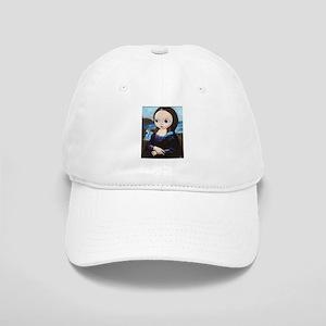 Big Eyed Mona Lisa Cap