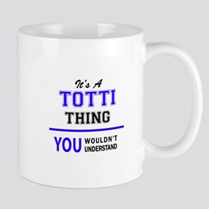 It's TOTTI thing, you wouldn't understand Mugs